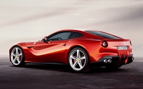 Picture red, supercar, ferrari, Ferrari, rear view, beautiful car, f12, berlinetta, Berlinetta, F12