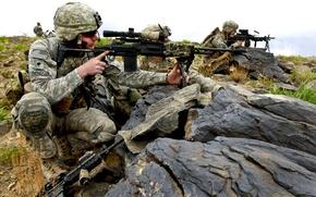 Picture army, ambush, USA