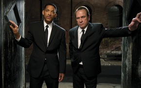 Picture Will Smith, Will Smith, Tommy Lee Jones, Agent K, Men in Black III, Agent J, …