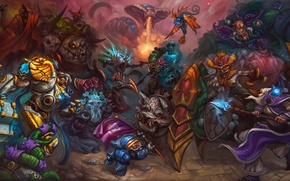 Picture diablo, warcraft, Jaina Proudmoore, Thrall, Tyrael, Heroes of the Storm, Archangel of Justice, Brightwing, Murky, …