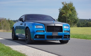 Picture Rolls-Royce, Mansory, rolls-Royce, Wraith, 2015