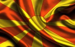 Picture Flag, flag, Republic, Macedonias, macedonia