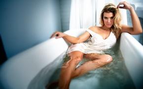 Wallpaper actress, bath, TJ Scott, Sarah Scotford, Sarah Scotford
