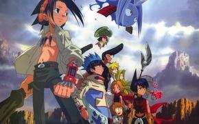 Picture Anna, Rio, Shaman king, Eliza, Bason, Yo Asakura, Trey Racer, Ren Tao, Kororo, Shaman king, …