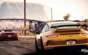 Picture Porsche, Need for Speed, nfs, GT3, 2013, Ferrari 458, Rivals, NFSR, NSF