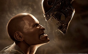 Picture alien, aliens vs predator, infantryman, alien vs predator