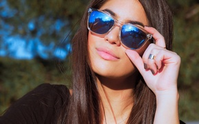 Picture sexy, model, sunglasses