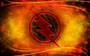 Picture logo, lightning, comics, Reverse Flash