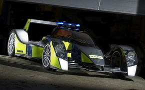 Wallpaper Caparo, the car, police