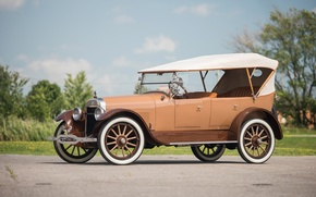 Picture Retro, Car, Model, Buick, Touring, 1922, 22-45