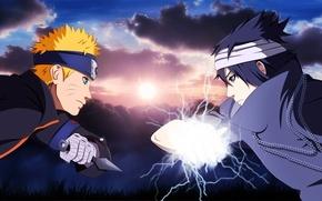 Wallpaper game, Naruto Shippuden, hokage, anime, logo Konohagakure no Sato, Naruto, live action, hitaiate, chidori, oriental, ...