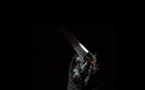 Picture Berserk, Black Swordsman, Guts