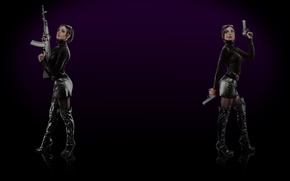 Picture steam, Saints Row The Third, Background profile, Viola and Kiki