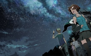 Picture Miwa Shirow, supercell, starry sky