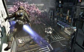 Picture Pilot, Soldier, JetPack, TitanFall, Angel City