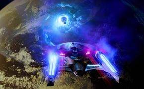 Picture planet, Star Trek, ship