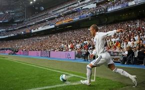 Picture Sport, Football, David Beckham, David Beckham, Football, Real Madrid, Real Madrid, Sport, Legend