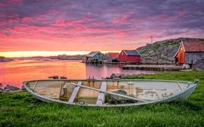 Wallpaper Norway, Rogaland, Norway, boat