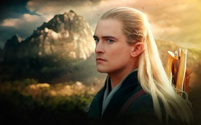 Wallpaper elf, the Lord of the rings, art, lord of the rings, Orlando Bloom, Legolas, Legolas, ...