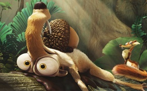 Picture cartoon, walnut, protein, ice age, Ice Age