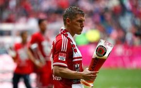 Picture Germany, Bayern, player, Bastian Schweinsteiger, midfielder, best midfielder