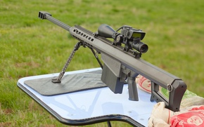 Wallpaper barrett m82, sniper, the rifle