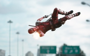 Picture Ryan Reynolds, Ryan Reynolds, The film, Deadpool, Marvel, Deadpool, Wade Wilson, Movie, Marvel, 2016, Wade …