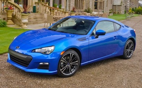 Picture subaru, blue, brz