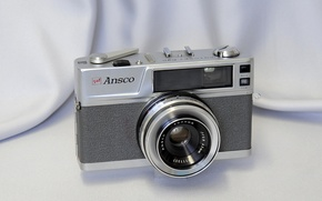 Wallpaper background, Ansco, camera