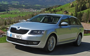 Picture car, 4x4, Skoda, Skoda, Combi, Octavia, Octavia