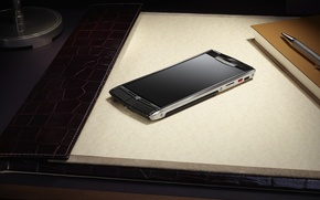 Picture style, gadget, hi-tech, smartphone, Vertu, Signature Touch