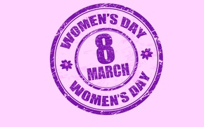 Picture March 8, women's day, congratulations