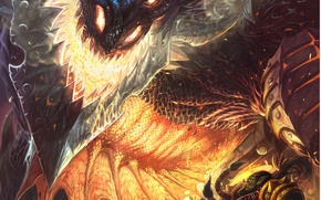 Picture wow, world of warcraft, cataclysm, Deathwing, cataclysm, Thrall