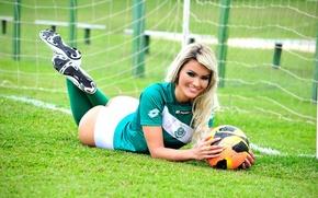 Picture football, football, soccer, sexy athlete, jacqueline dos santos