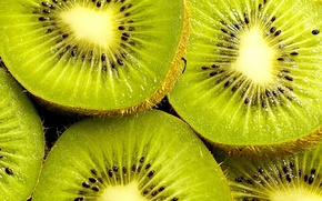 Picture green, background, widescreen, Wallpaper, food, seeds, kiwi, berry, wallpaper, widescreen, background, slices, full screen, HD …