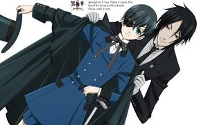 Picture dark Butler, Kuroshitsuji, Sebastian
