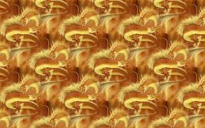 Picture fantasy, background, dragon, art, China