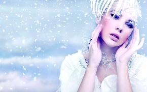 Picture Girl, Model, Style, Makeup, Look Photographer Konrad, Backgrounds, Glamor, Konrad Look