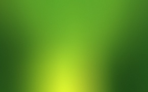 Picture simple, green, light, ray