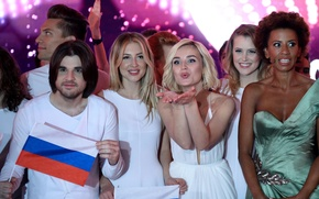 Picture singer, Eurovision, Polina Gagarina, Alexander Pozdnyakov