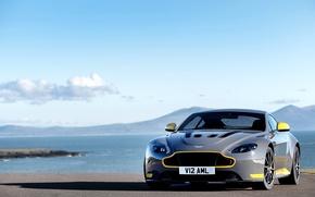 Picture car, the sky, Aston Martin, Aston Martin, sport, supercar, car, sky, V12, Vantage S, Sport-Plus …