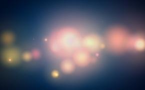 Wallpaper circles, color, Vaughn, blurred