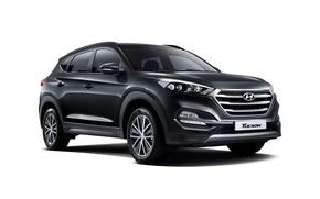 Picture white background, Hyundai, crossover, Tucson, Hyundai, Tucson