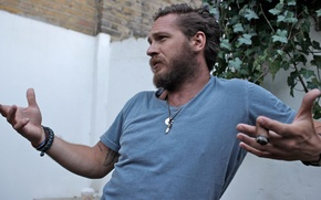 Picture Actor, Male, Tom Hardy, Tom Hardy, beard.cigar