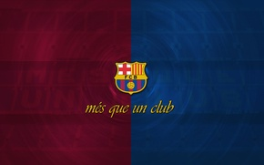 Picture wallpaper, football, Spain, FC Barcelona, My As a Club, More Then a Club