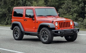 Wallpaper jeep, 2015, Wrangler, Jeep, Wrangler, forest