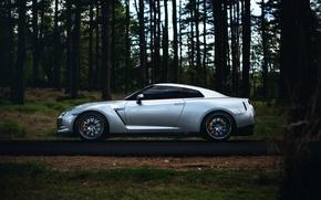 Picture GTR, Nissan, wheels, sports car, side, Nissan, stance