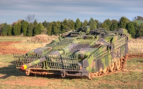 "Picture tank, combat, main, 1960-ies, Swedish, 's long 103, ""S-tank"""