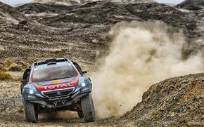 Picture 2008, Dust, Peugeot, Peugeot, Dakar, DKR, Baggy