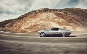 Picture car, Ford, in motion, ford mustang, muscle car, gt500, rechange, dejan sokolovski photography
